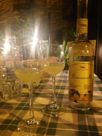 B&B Villa Le Ortensie: The best Limoncello!!