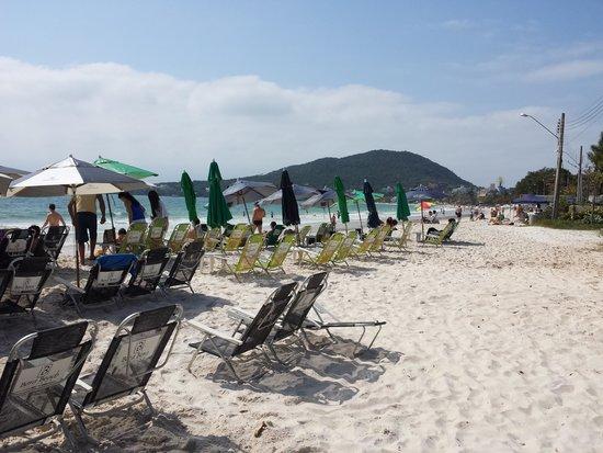 Pousada Bora Bora: praia