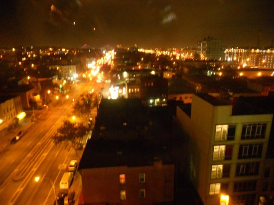 Brooklyn Way Hotel, BW Premier Collection: Night view from our room