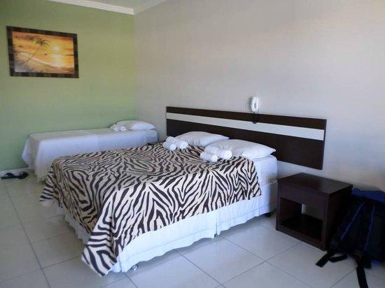 Apart Hotel Veleiros: Vista do quarto