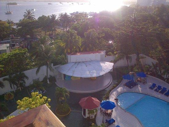 Hotel Arena Blanca: la vista