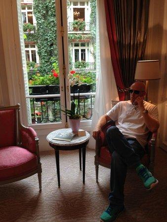 Hôtel Plaza Athénée: relax