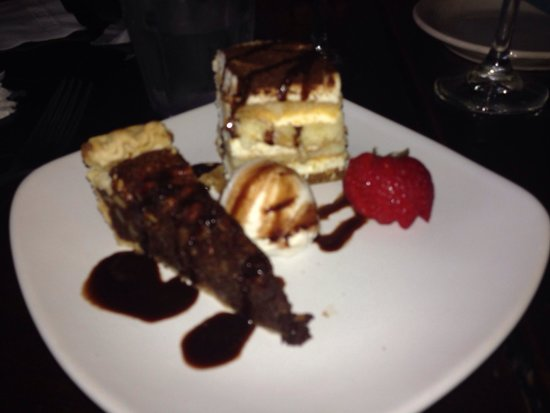 Farlow's On The Water : Desserts are delicious at Farlow's. Hard to choose between the chocolate pecan pie and Tiramisu.