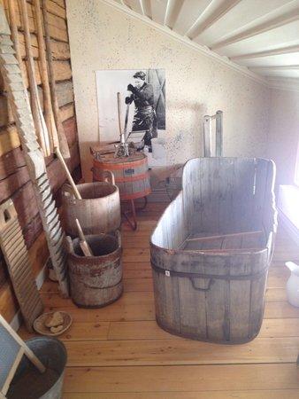 Arjeplog, Sverige: Old school bath tub?