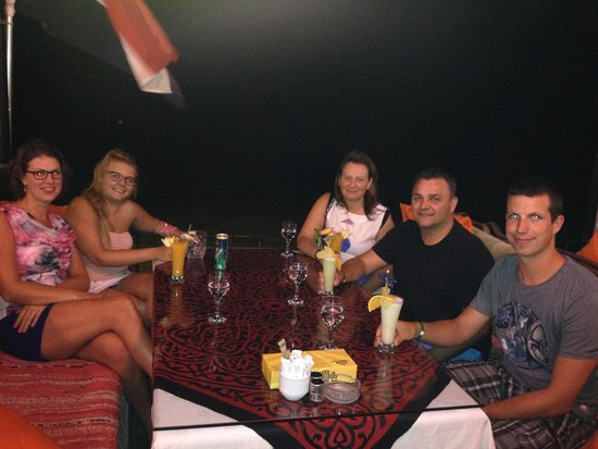 Ali Baba Restaurant: sept '14 with friends
