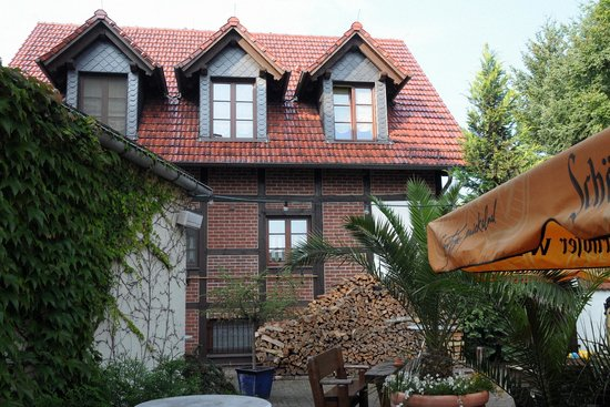 Der Linther-Hof: Der Gastgarten