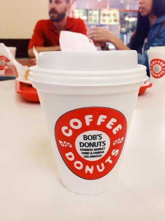 Melting Pot Food Tours : Bob's apple fritters & coffee to start off the morning