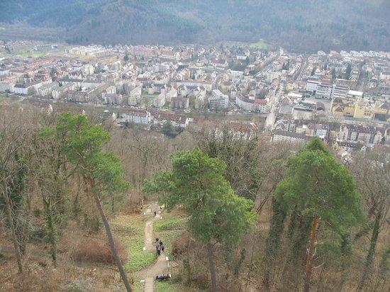 Schlossberg: Вид на Фрайбург