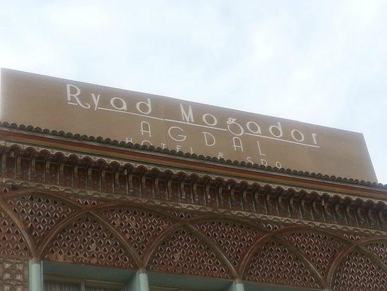Ryad Mogador Agdal : enseigne