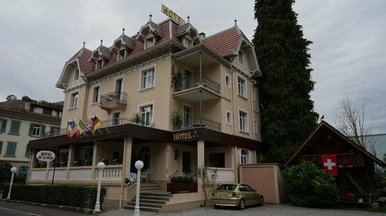 Hotel de la Paix : Main enterance