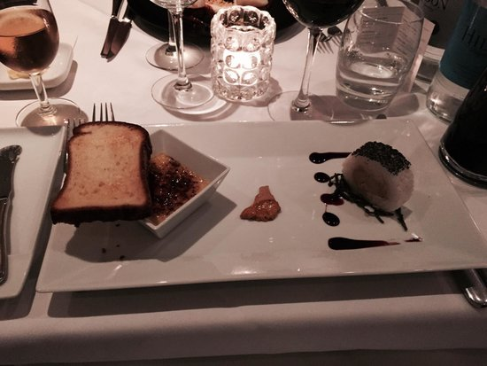 Fois gras picture of the french table surbiton for The french table 85 maple road surbiton surrey kt6 4aw