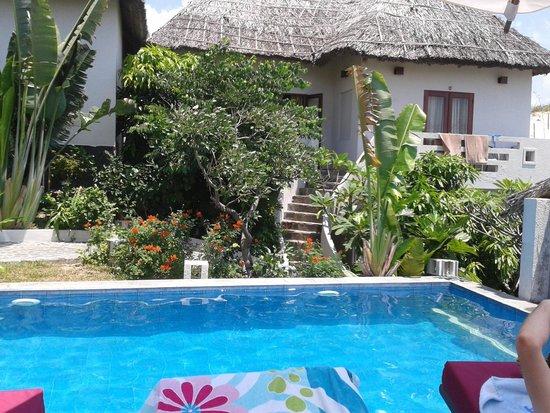 Mui Ne Hills Villa Hotel: Poolblick