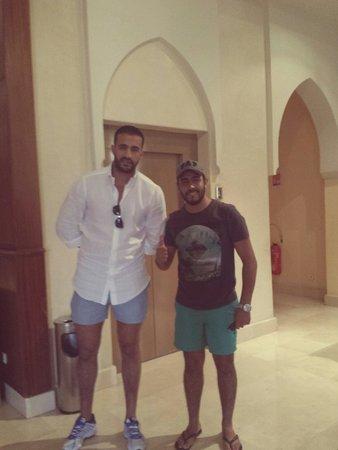 Palm Plaza Marrakech Hotel & Spa: Avec Badr Hari