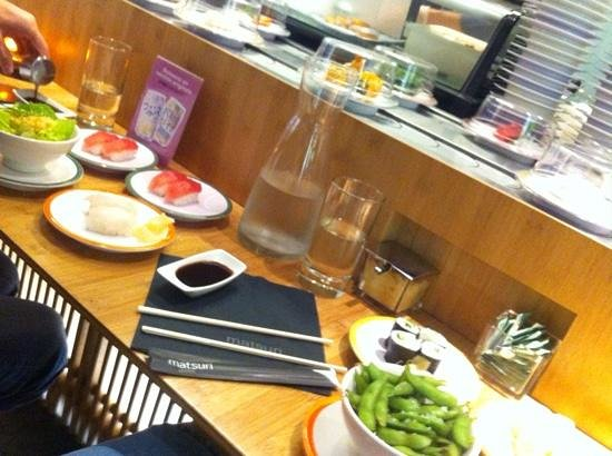 Matsuri Sushi Restaurant Victor Hugo Paris