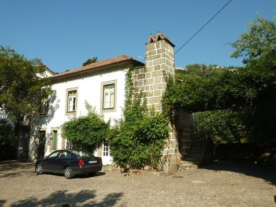 Quinta da Ermida: facade secondaire
