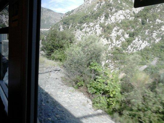 Train des Merveilles: vue du train