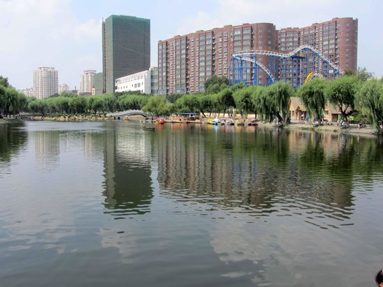 Shengli Park of Changchun : lake