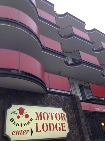 Red Coach Motor Lodge: Foto esterno