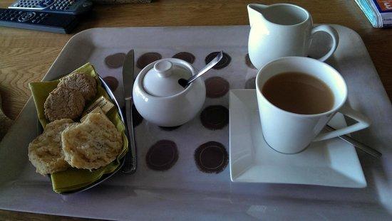Inishowen Lodge : Homemade treats on arrival