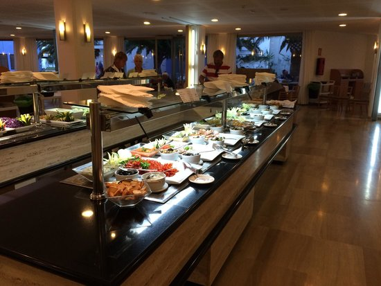 Grand Hotel Palladium : Buffet