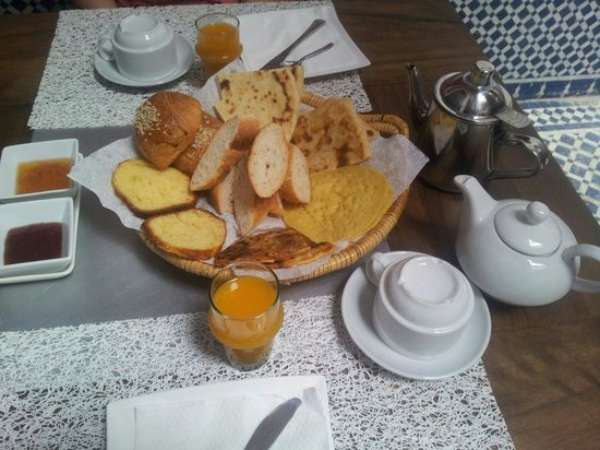 Riad d'Or: Breakfast