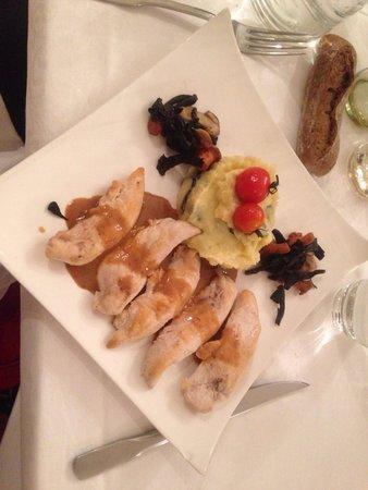 Restaurant La Petite Verrerie: Aiguillettes de poulet