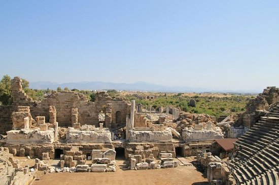 Aspendos - Picture of Greek Amphitheater, Side - TripAdvisor