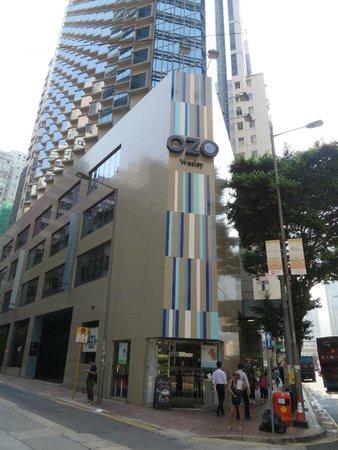 OZO Wesley Hong Kong : ホテル外観
