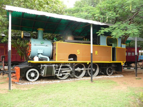 Railway Museum Mysore: Steam engine