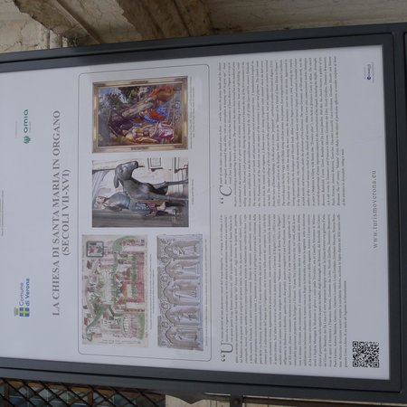 The Church of Sant'Eufemia: Information Board
