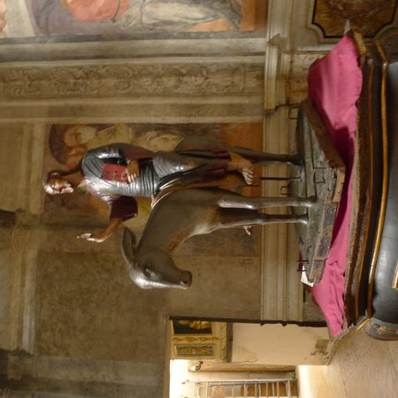 The Church of Sant'Eufemia: Christ on The Mule