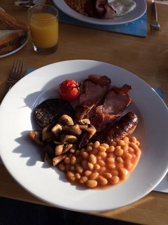 The Caledon Guest House: Breakfast