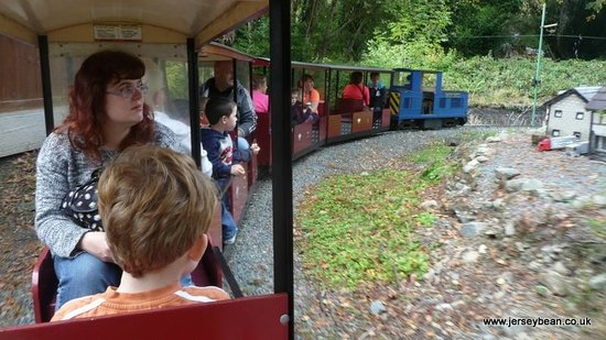 Conwy Valley Railway Museum & Model Shop: On the miniature train