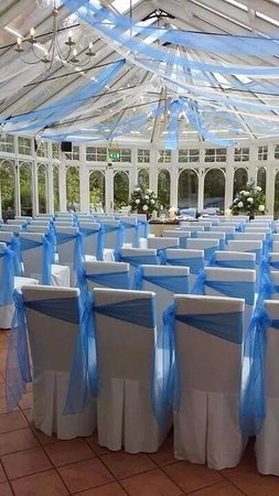 Kincaid House Hotel: conservatory