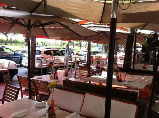 Hotel Breakwater South Beach: Terrace