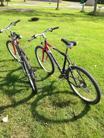 Quadna Resort and Conference Center: Mountain bikes for rent