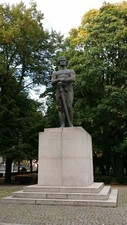 Tartu Statue of Liberty - Kalevipoeg
