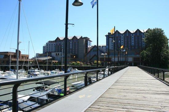River Rock Casino Resort: from the wharf