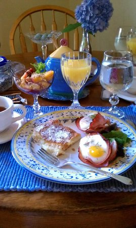 Tryon Farm Guest House B&B: Breakfast