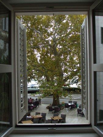 Hotel Croatia : View thru window