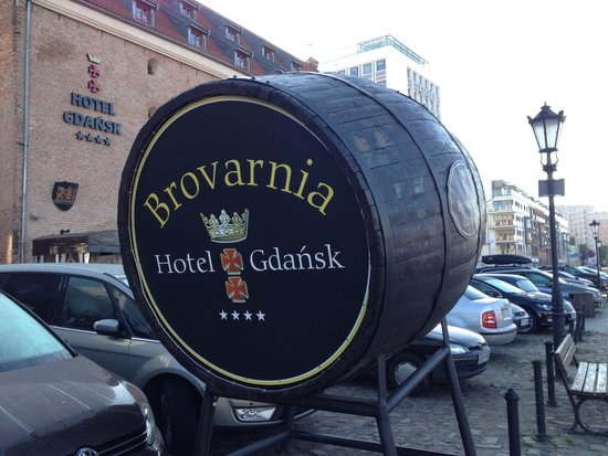 Brovarnia Gdansk: Esterno della birreria