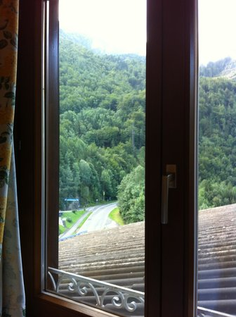 Hotel Pass Lueg: vista tetto