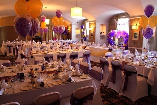 Loughborough, UK: our beautiful wedding reception.