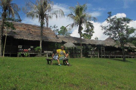 Amazon Eco Tours & Lodge: Otra vista del lodge