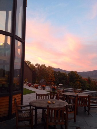 The Mountain Top Inn & Resort : Sunset