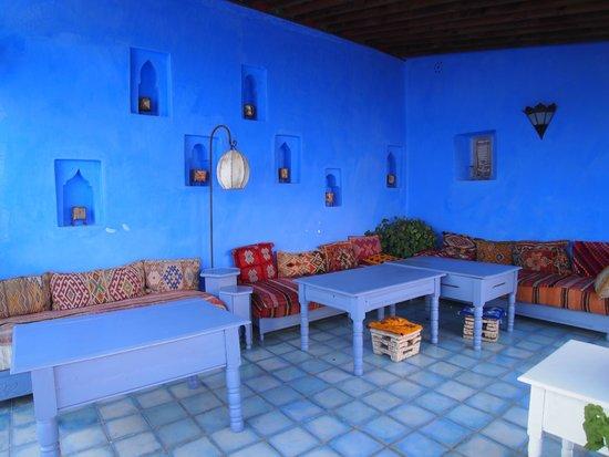 Casa Perleta: 屋上テラス