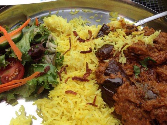 Vimala's Curryblossom Cafe : Eggplant Curry