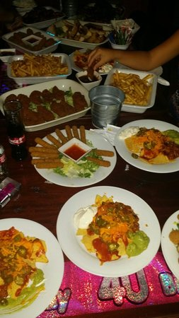 The Fat Fajita: Hot Buffet for a Birthday Party