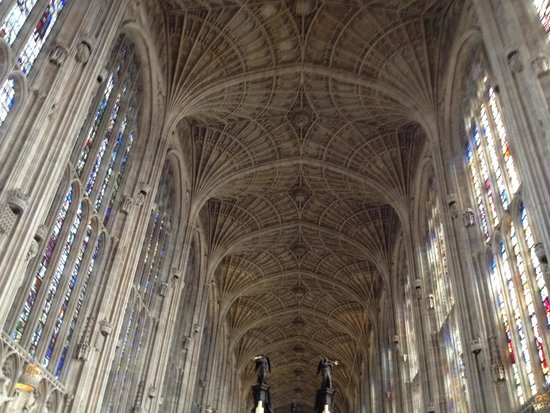 The Fan Vault Ceiling Picture Of King S College