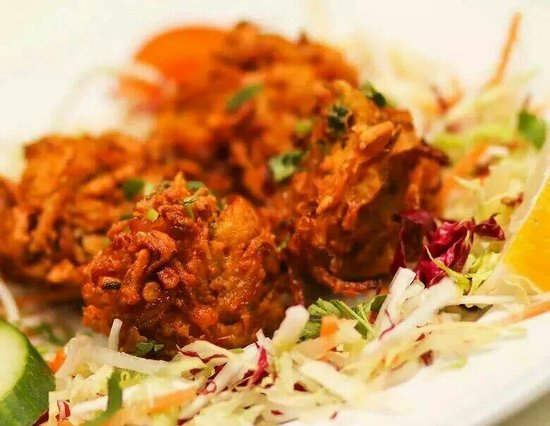India Restaurant: Onion bhaji